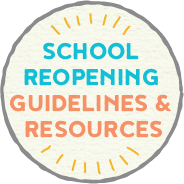 School Reopening Button