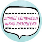School Counseling Week Resources Button
