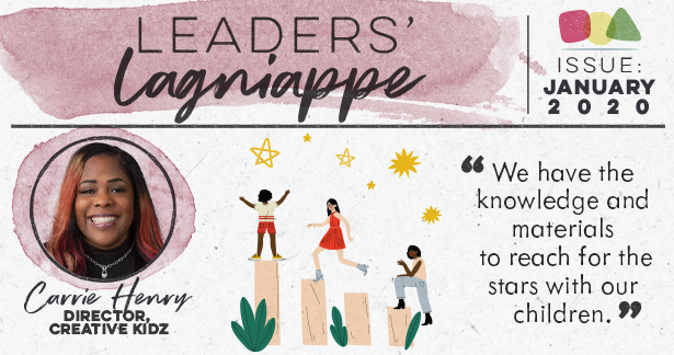 Leaders Lagniappe - January 2020 - Carrie Henry